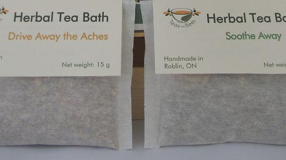 Tea Bath Sachet Set (Package of 2)