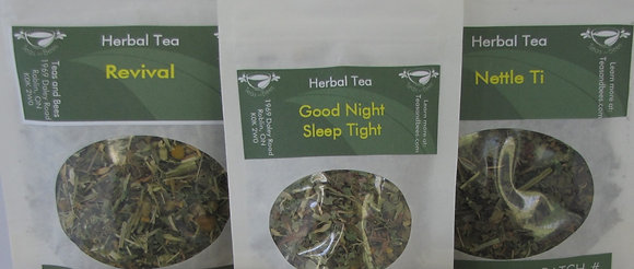 3 Packs of Herbal Teas - Mix and Match/Tasters