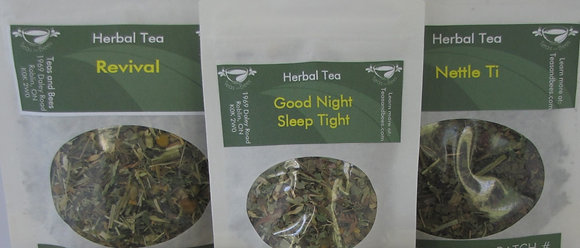 3 Packs of Herbal Teas - Mix and Match/Tea Lovers