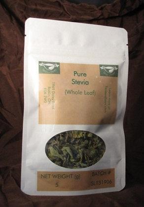 Stevia - Whole Leaf, 5 g