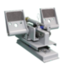 Force-Feel loading rudder pedals