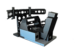 Flight Simulation Cockpit, Cockpit shell, Cockpit base