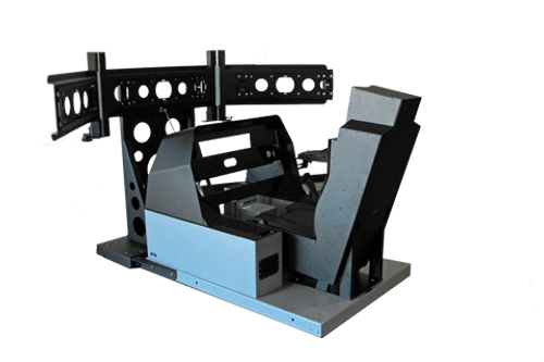 Flight Simulation Cockpit, Cockpit shell, Cockpit base