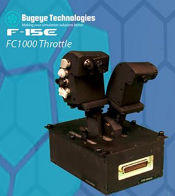 F-15 Throttle, F15E Throttle, F-15 throttle Mechanism