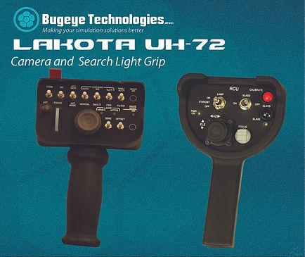 MX-15 Camera, Lakota Search light and camera controls