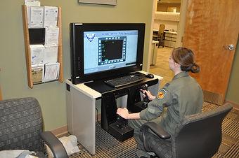 Flight Simulation Desktop mounts