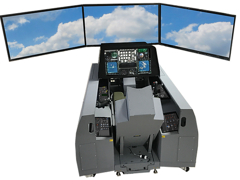 F-16 Stick, Throttle, Rudder pedals and medium fidelity cockpit