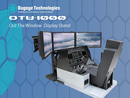 OTW flight simulation and cockpit from Bugeye Technologies