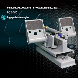 Simulation Rudder Pedals for Flight Simulation