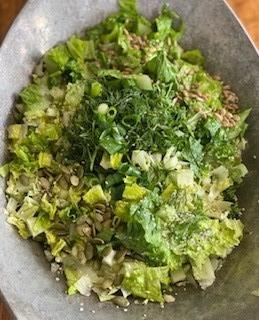 Springy, Zingy, Nutrient-Dense Salad