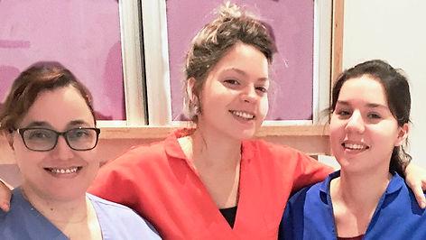 Les assistantes du Docteur Magali Llopis Chirurgien Dentiste Paris 12