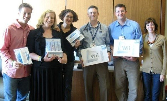 Wii Donation to OHSU