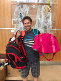 Backpack Donation to OHSU