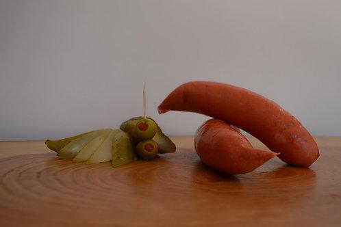 paquete salchicha frankfurt 1 kg