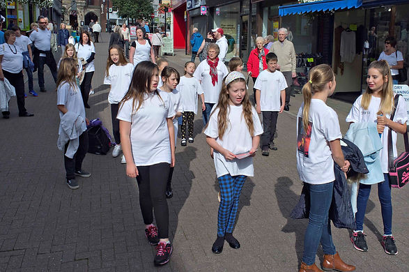 WDTW Flash Mob, Bridge Street Congleton