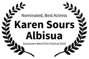 Nominated Best Actress - Karen Sours Alb
