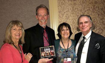 The Team holding their award from Laughlin International Film Festival