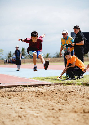RSC Athletics Day - Long Jump shot of Jordan Wong