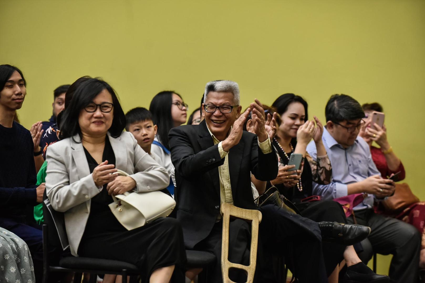 Our Rector, Rev. Philip Lo.
