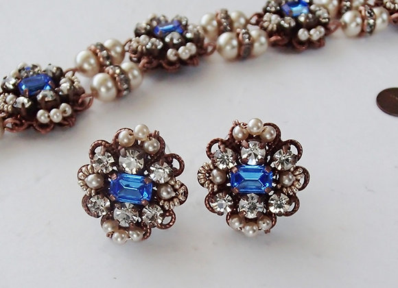 Sapphire Princess EARRINGS Historical jewellery