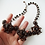 Thumbnail: BLACK RHINESTONE NECKLACE