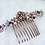 Thumbnail: GREY BRIDESMAID HAIR COMB