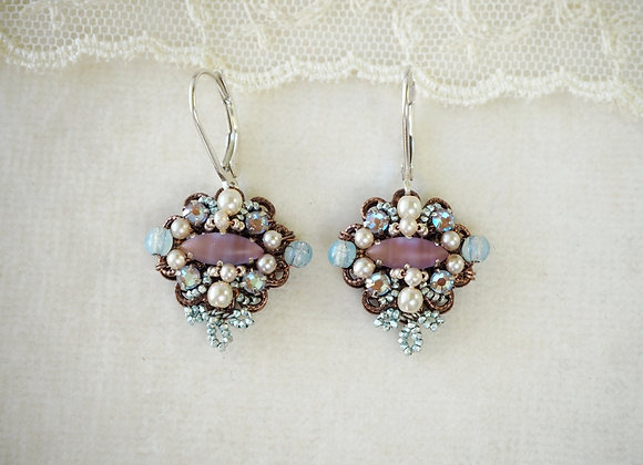 Saphiret earrings sappharine sapphirene jewelry mdmButiik jewellery