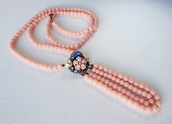 Amelie LONG PINK NECKLACE