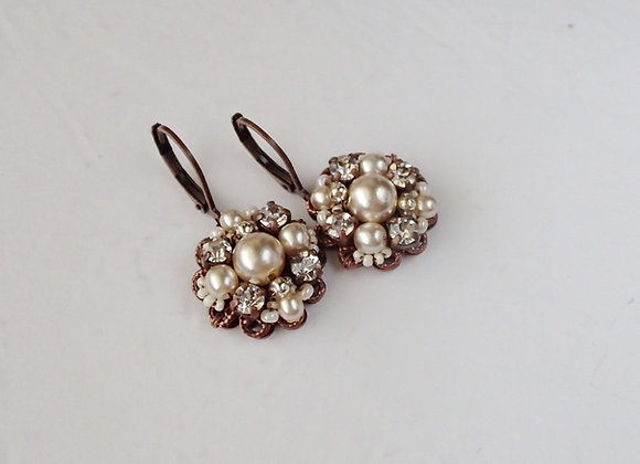 PEARL BRIDAL EARRINGS Victorian