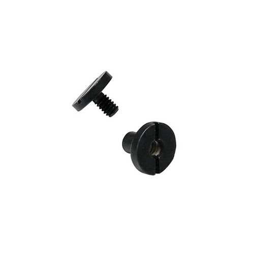 DEADBOLT SCREW FLAT (Black)