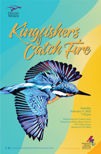 Kingfisher's Catch Fire