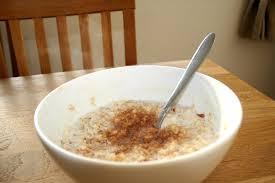 Apple and Cinammon Porridge