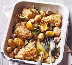 Chicken & Potato Tray Bake