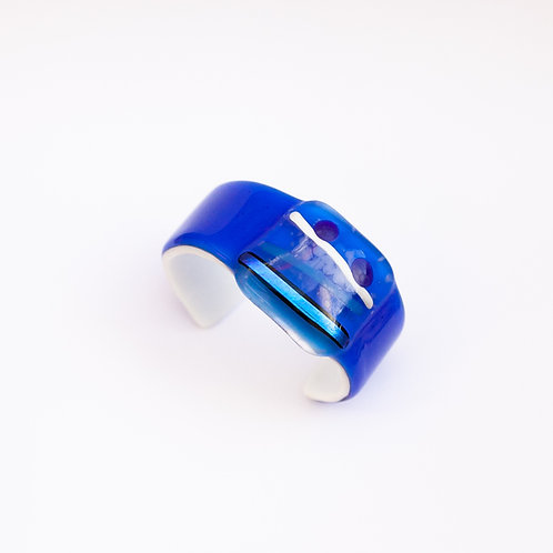 Bracelete Azul e Branco