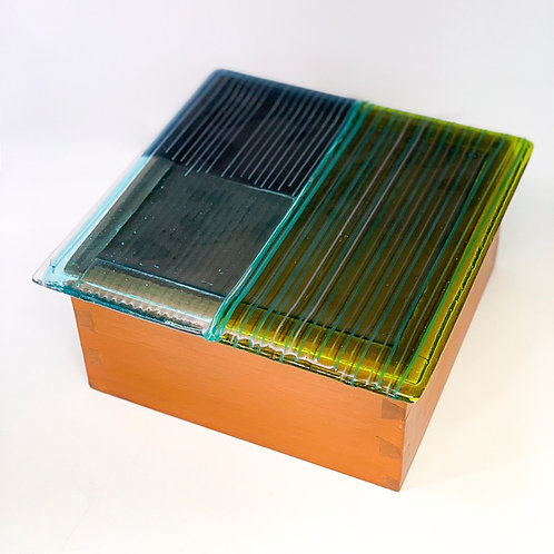 Caixa de Madeira Fios