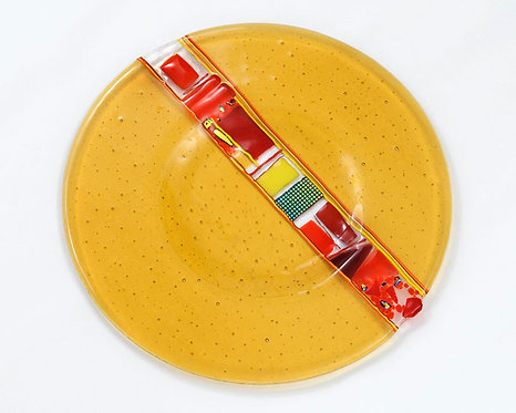 Prato Klaus Amarelo