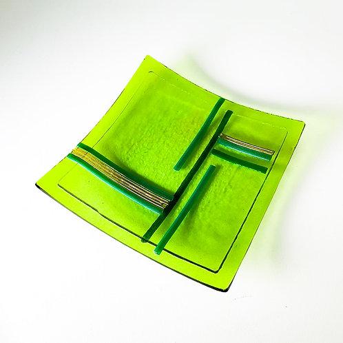 Placa Verde Faixas