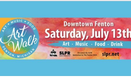 Fenton Art Walk! July 13, 2019