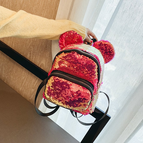 SEQUIN MICKEY BACKPACK