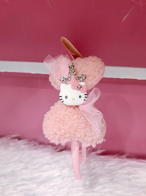 HELLO KITTY CROWN HEADBAND