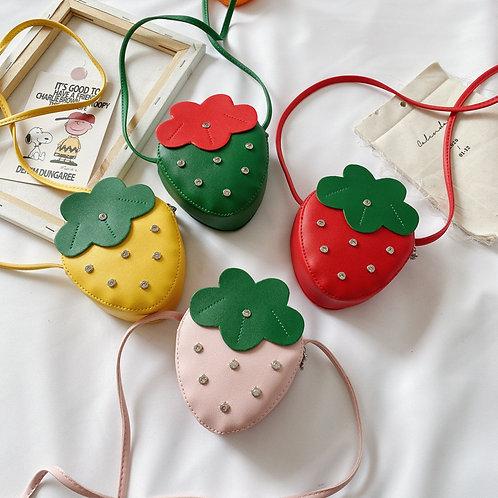 Strawberry kid Purse