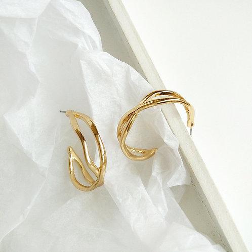 < PLATED > Trendy Earrings