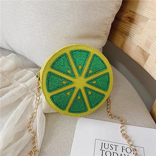 Lemon Satchel Bag