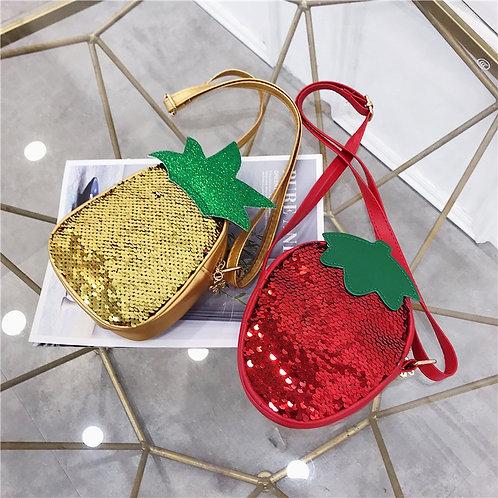 STRAWBERRY PINEAPPLE SEQUIN Kids purse