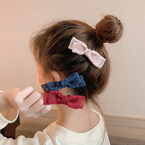 Small Lace Hair Clip