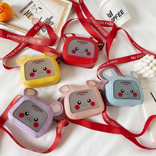 Square Bunny Kids purse