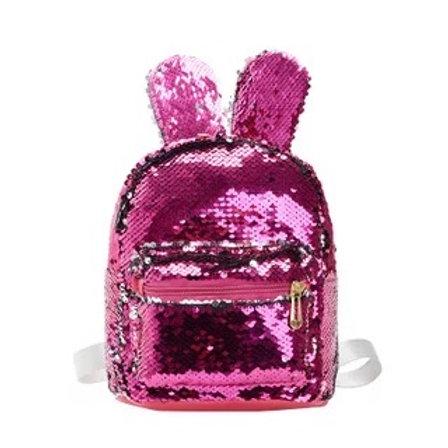 Sequin Bunny Backpack