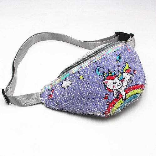 Unicorn Sequin Fanny Pack