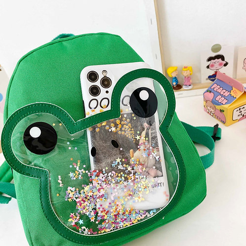 Snowing Frog Backpack