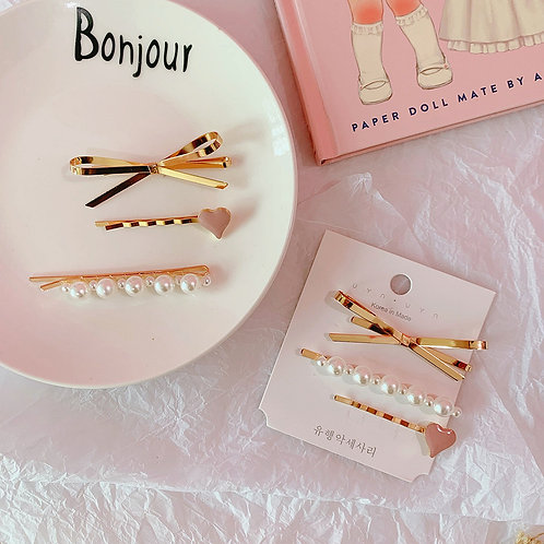 PEARL CLIPS SET